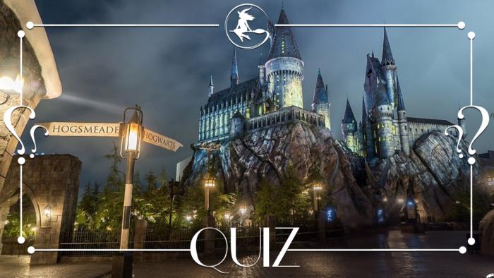 Quiz – Les Wizarding World of Harry Potter des parcs Universal