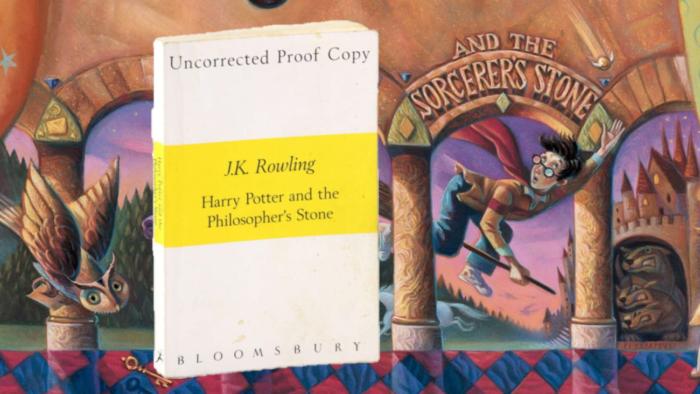 Vente d'une rare édition de Harry Potter à l'école des sorciers