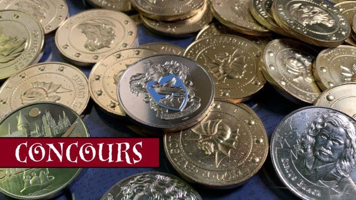 Concours – Gagnez des médailles Harry Potter et des Gallions avec La Monnaie de Paris !