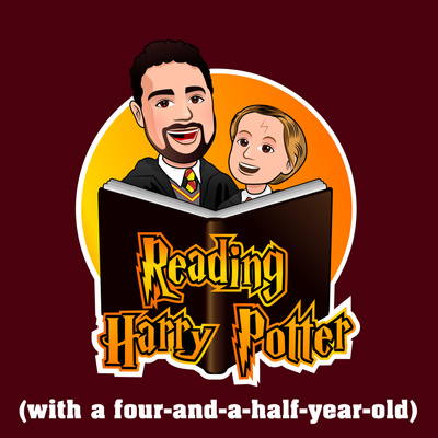 reading harry potter with a four and a half year old