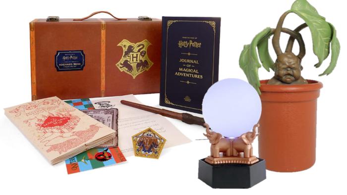 De nouvelles répliques interactives Harry Potter chez Running press
