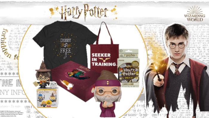 Nouvelle vague de Wootbox Harry Potter