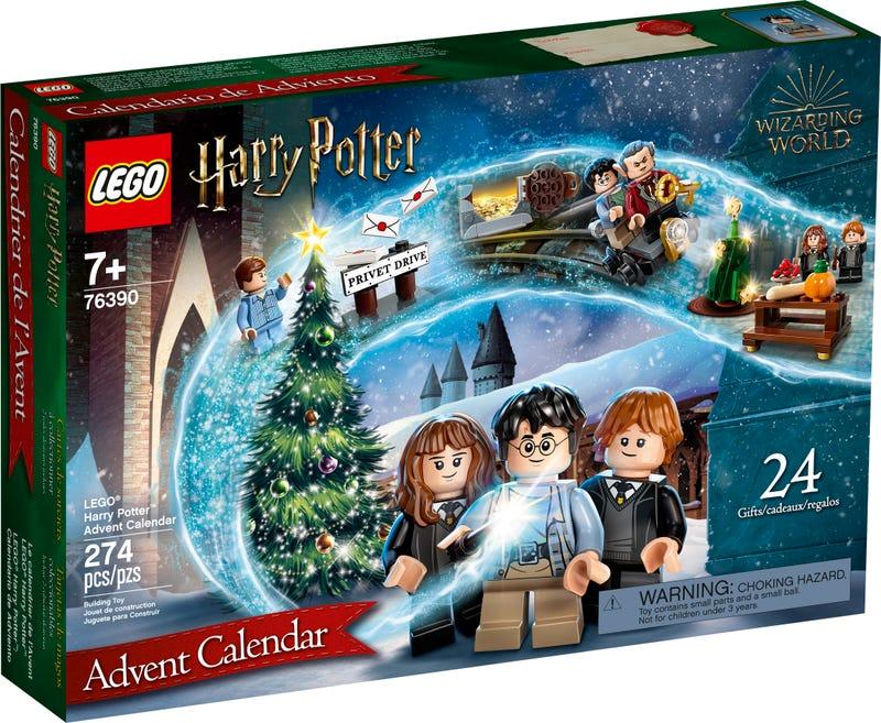 Calendrier de l'Avent Lego Harry Potter - boite