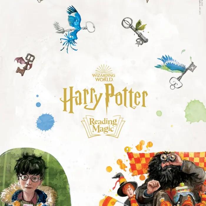 """""""Harry Potter : Reading Magic"""" par le Wizarding World."""