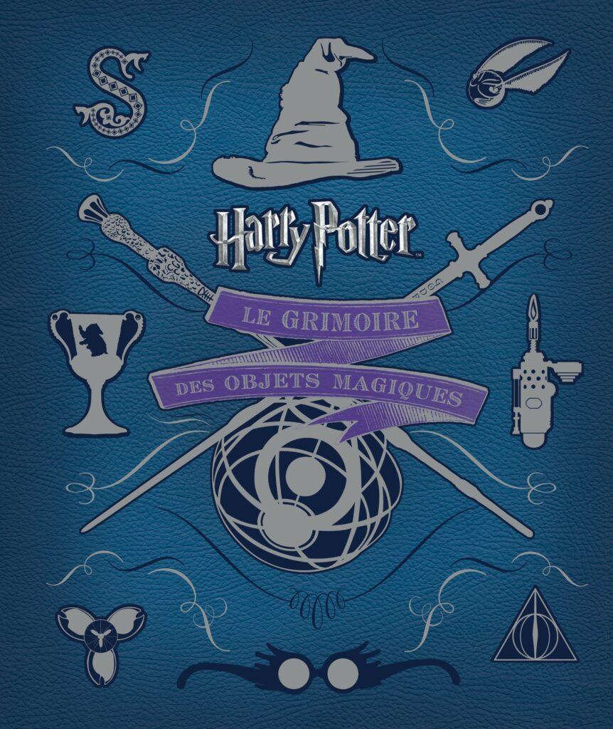 Couverture du livre makig of Harry Potter : le grimoire des objets magiques