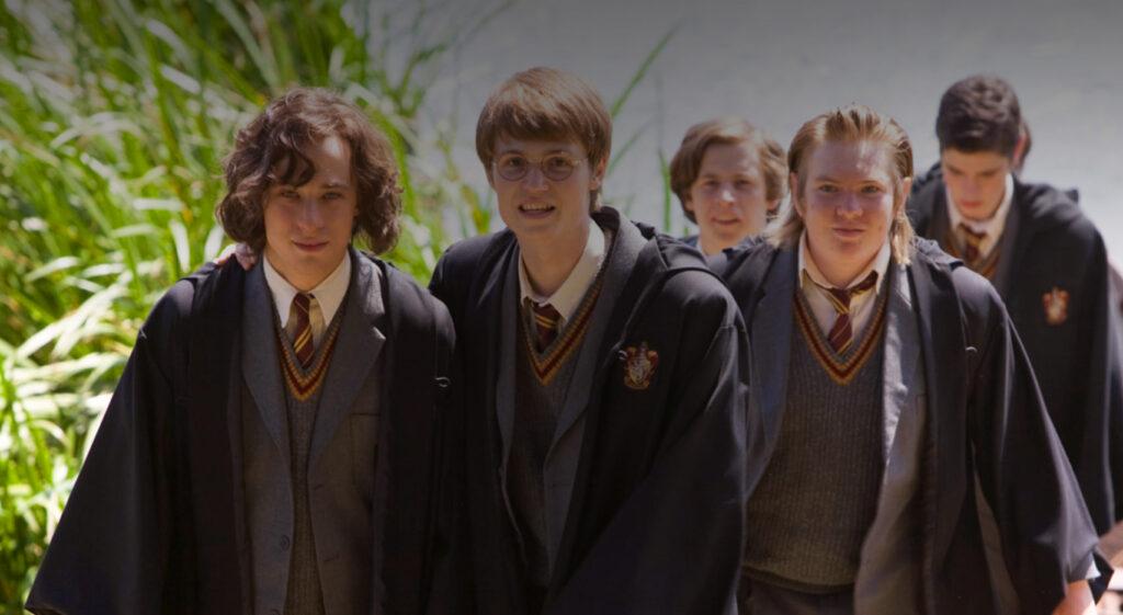 Les quatre Maraudeurs jeunes