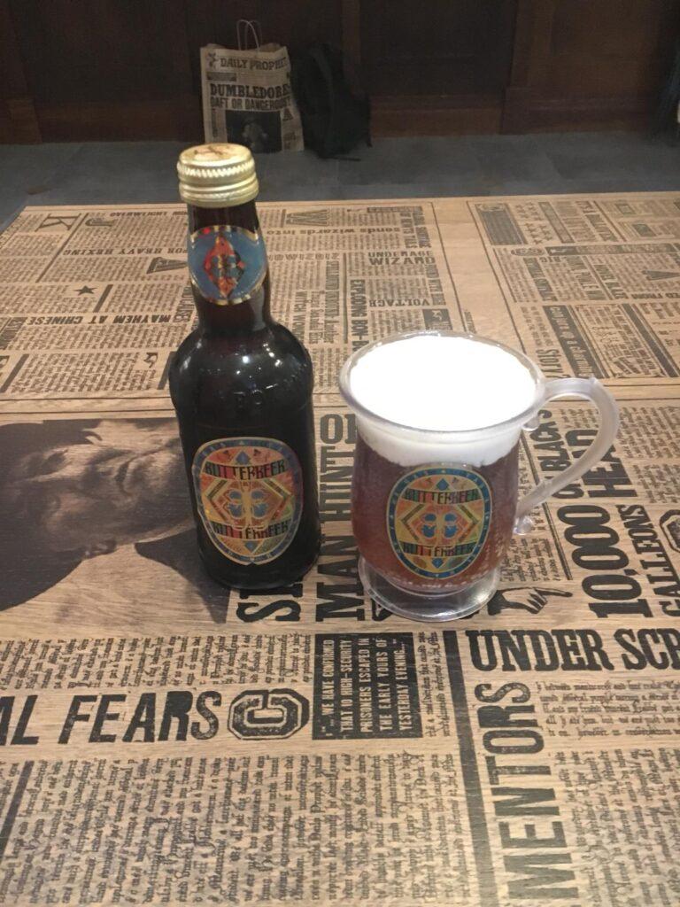 Bièraubeurre servie à la boutique Harry Potter de New York