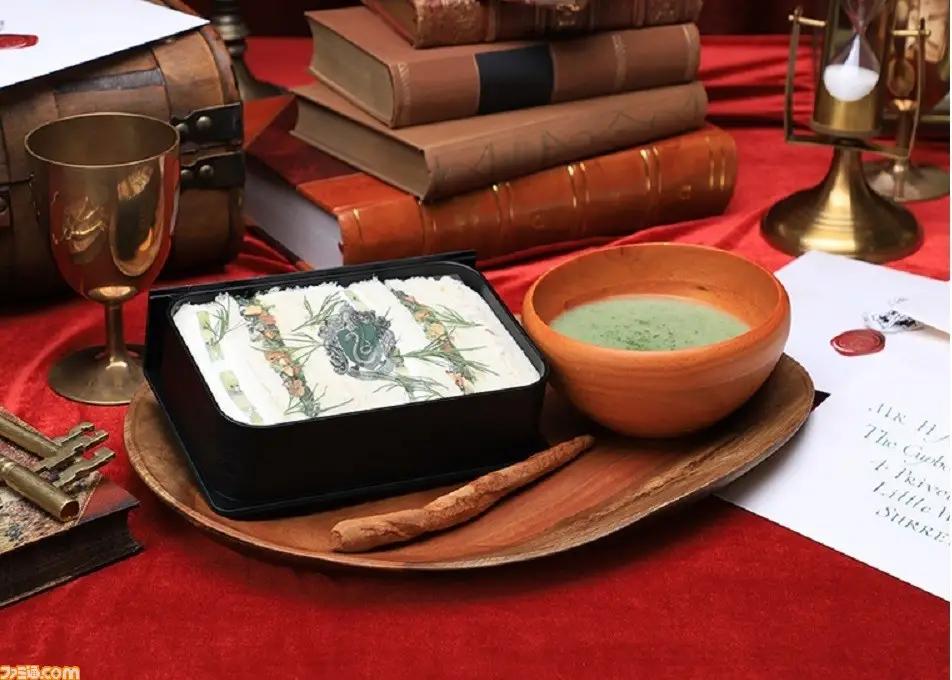 Soupe Harry Potter dans le café Harry Potter officiel au Japon