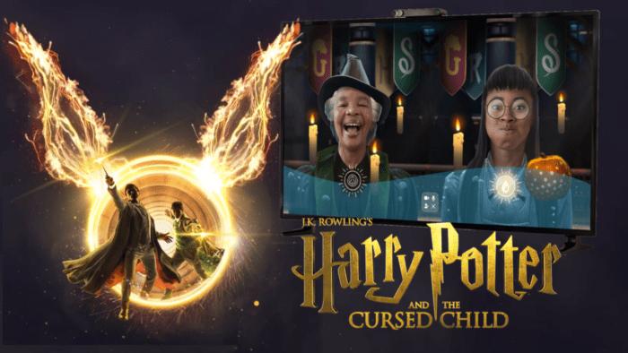 Harry Potter et l'Enfant Maudit célèbre son retour sur Facebook Portal