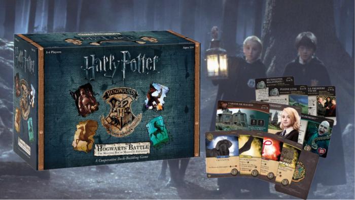 Critique – Hogwarts Battle, extension Monstrueuse Boite des Monstres
