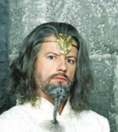 Merlin dans la série Kaamelott