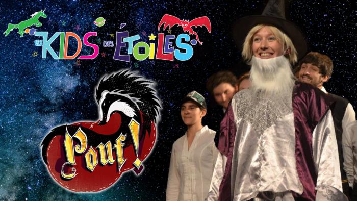 Critique : La parodie musicale «Pouf» par Les Kids des Etoiles