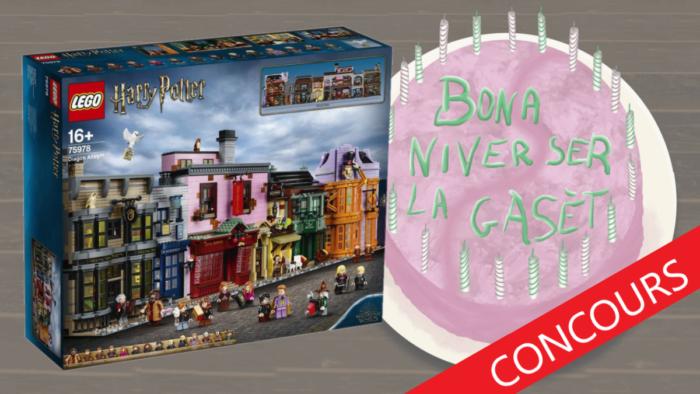 Remportez un set LEGO Chemin de Traverse à l'occasion des 21 ans de la Gazette !