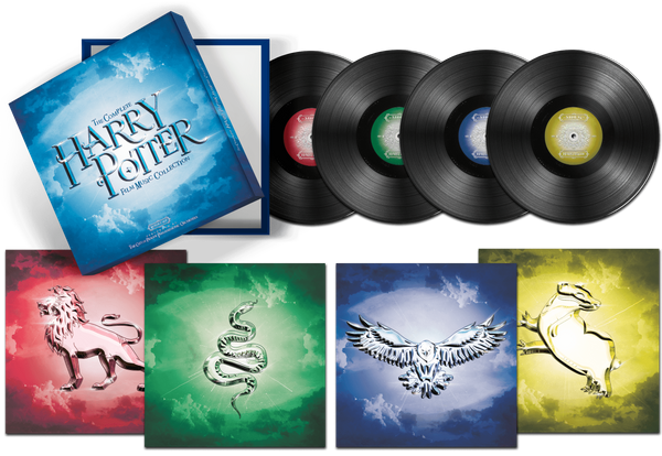The City Of Prague Philharmonic Orchestra Box Set The Complete Harry Potter Film Music Collection