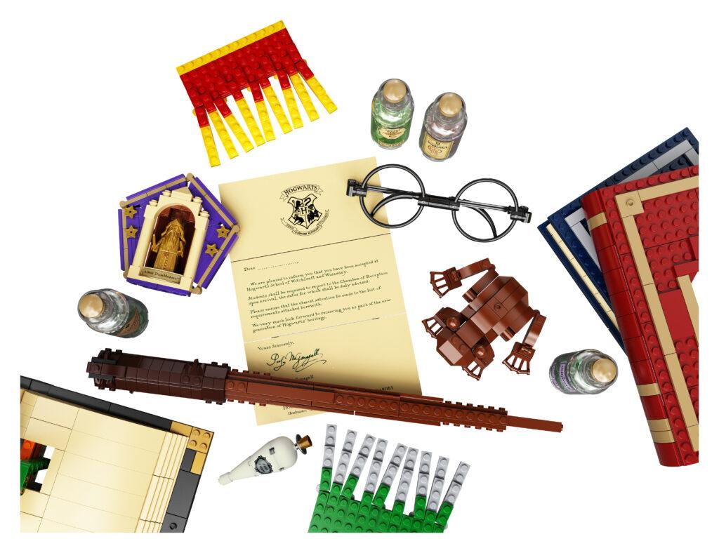 Set LEGO Harry Potter Hogwarts Icons Collectors' Edition - objets emblématiques de la saga