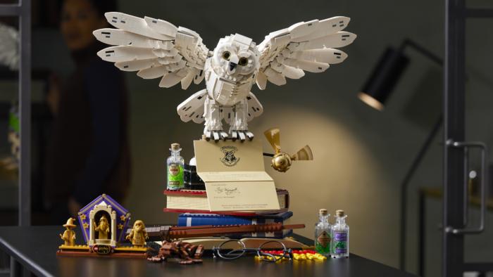 LEGO annonce un nouveau set Hedwige avec ta lettre de Poudlard !