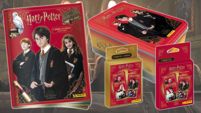 Le Manuel du Sorcier : nouvelle collection de stickers Harry Potter par Panini
