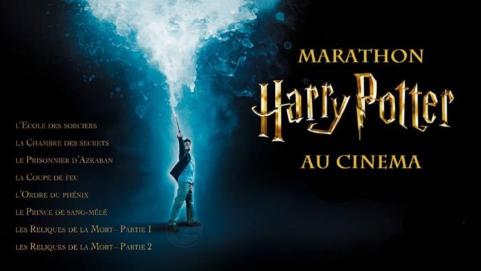 Marathon Harry Potter les 21 et 22 août à l'Isle-Adam