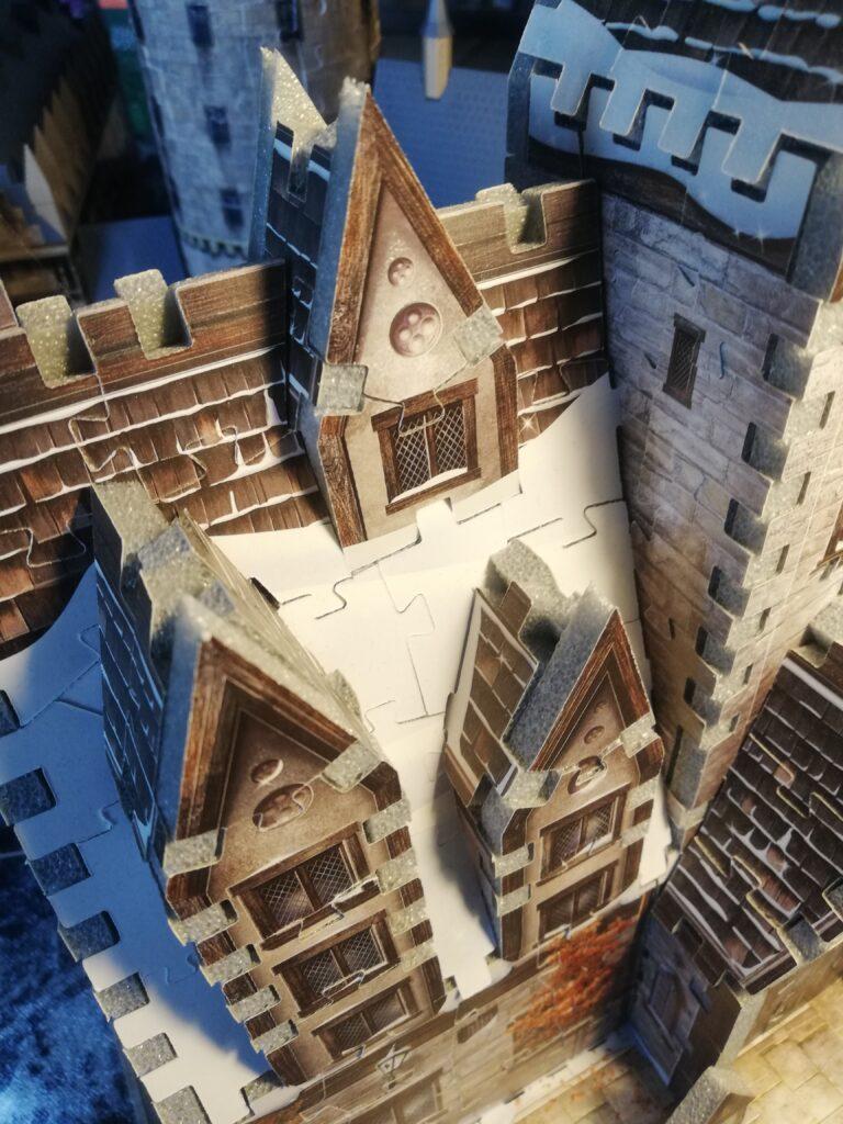 Toit du puzzle 3D Trois Balais de Wrebbit