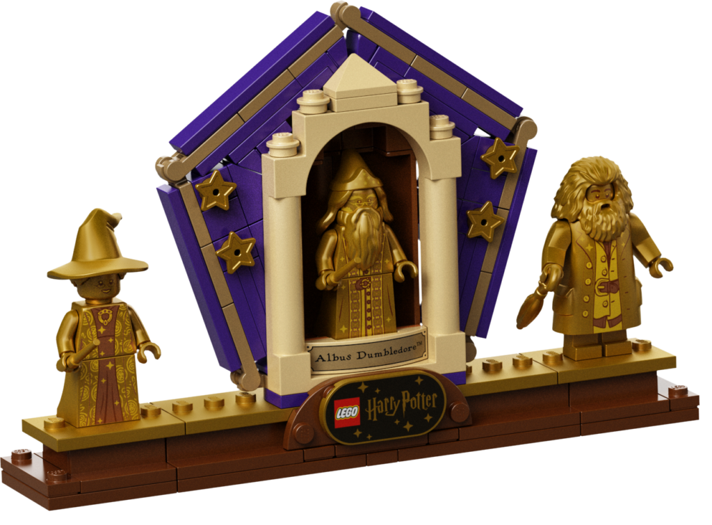 Présentoir du set LEGO Harry Potter Hogwarts Icons Collector's Edition