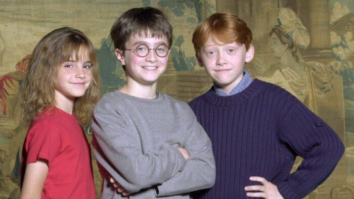 Harry Potter – Première conférence de presse du trio