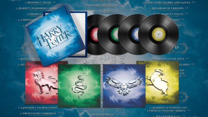 Les vinyles des huit films Harry Potter enfin disponibles !