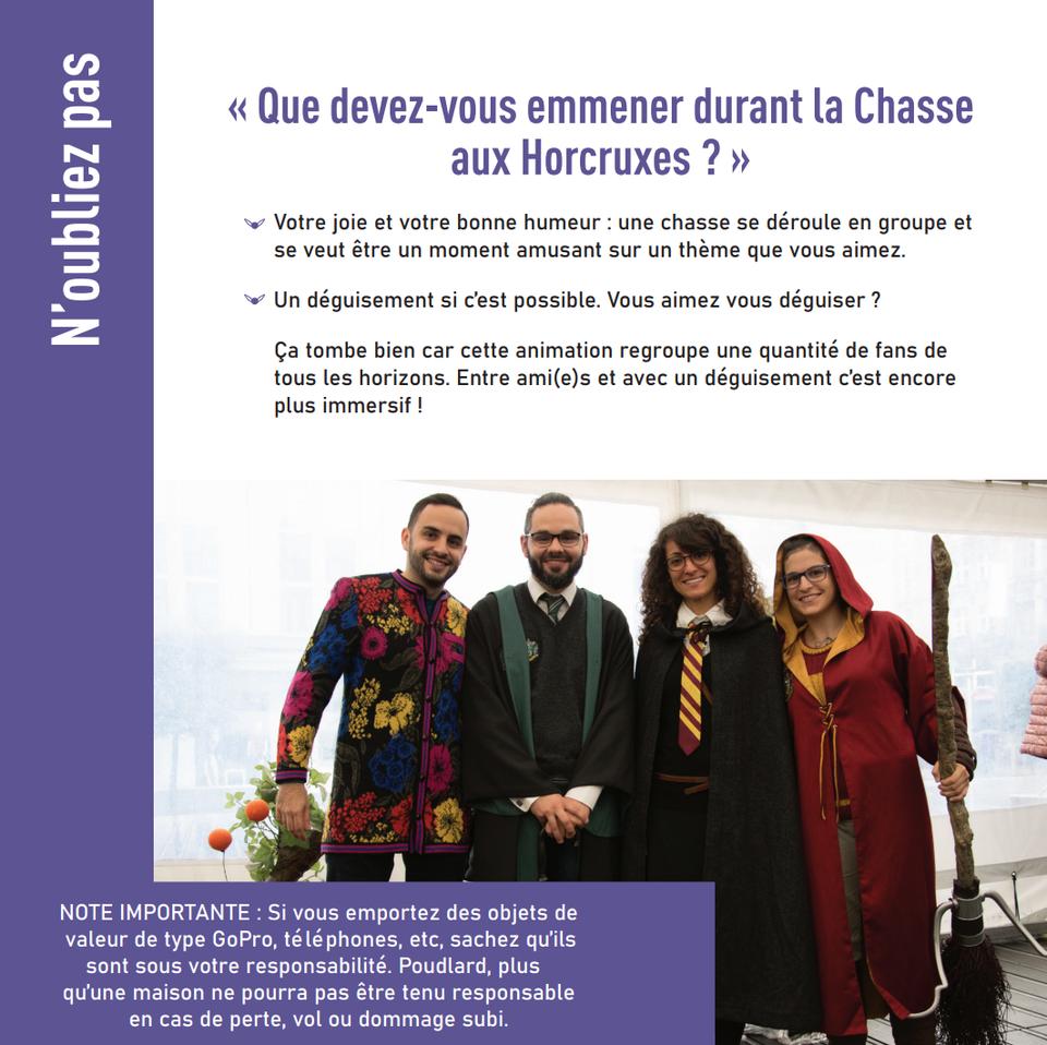 Visuel Chasse aux Horcruxes Belgique