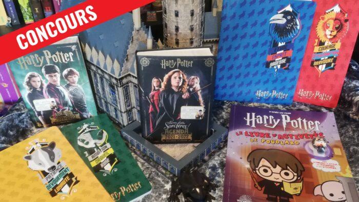 CONCOURS – Remportez un agenda, un livre d'activité et un lot de cahiers Harry Potter