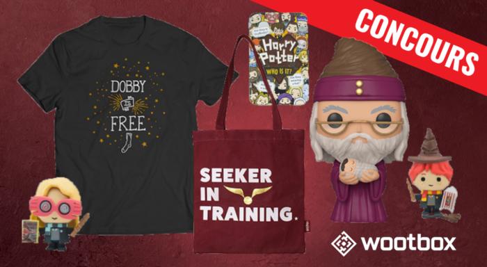 CONCOURS – Remportez une box Harry Potter avec Wootbox !