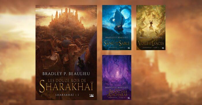PotterAfter : la saga Sharakhaï de Bradley P. Beaulieu