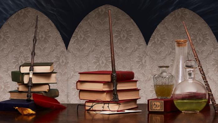 Une collection de baguettes Harry Potter officielles en bois !