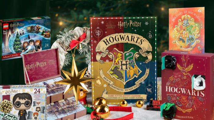 Récap : les calendriers de l'Avent Harry Potter 2021