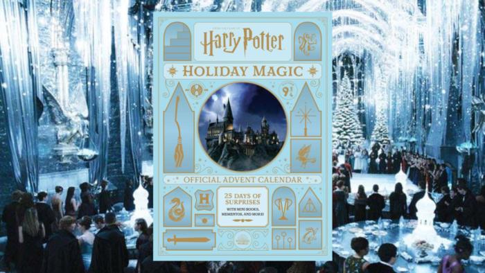 Gallimard Jeunesse annonce son calendrier de l'Avent Harry Potter