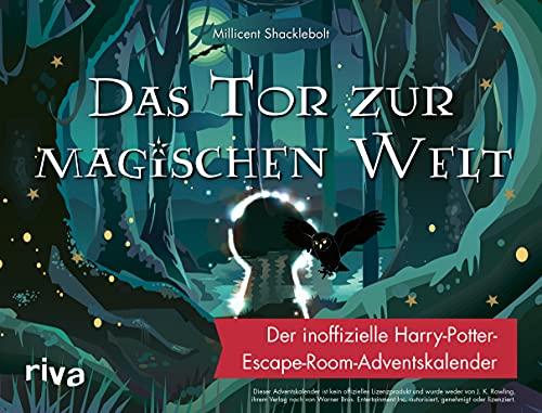Couverture du livre calendrier de l'Avent sous forme d'Escape Game Das Tür zur Magishen Welt