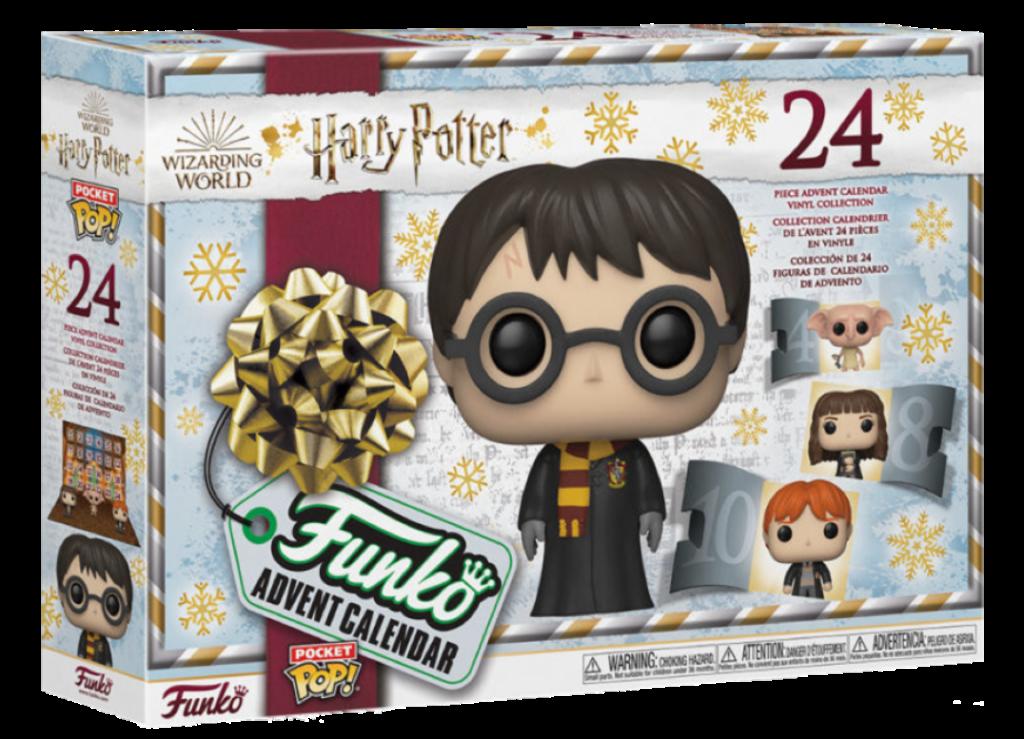 Aperçu calendrier de l'Avent Funko Pop Harry Potter 2021 : extérieur de la boîte