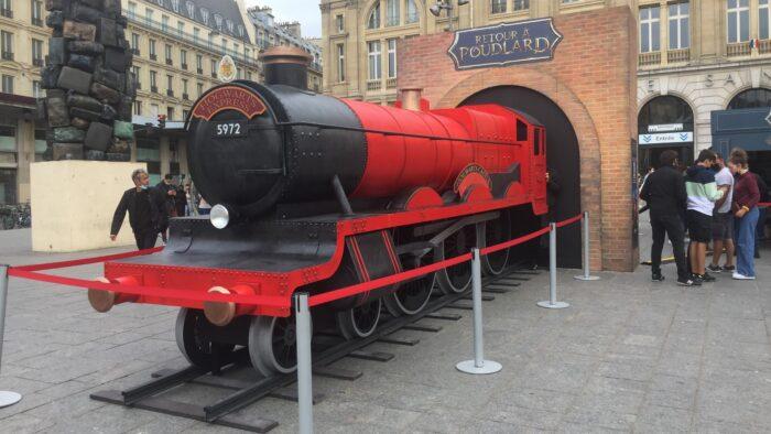 Poudlard Express à Paris : Reportage sur le #RetouràPoudlard 2021