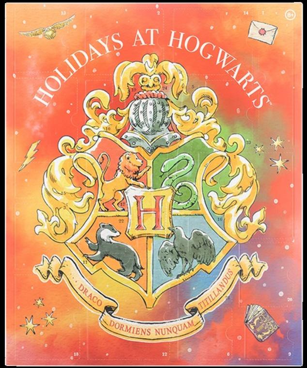 Aperçu couverture calendrier de l'Avent Harry Potter de Pandalone 2021