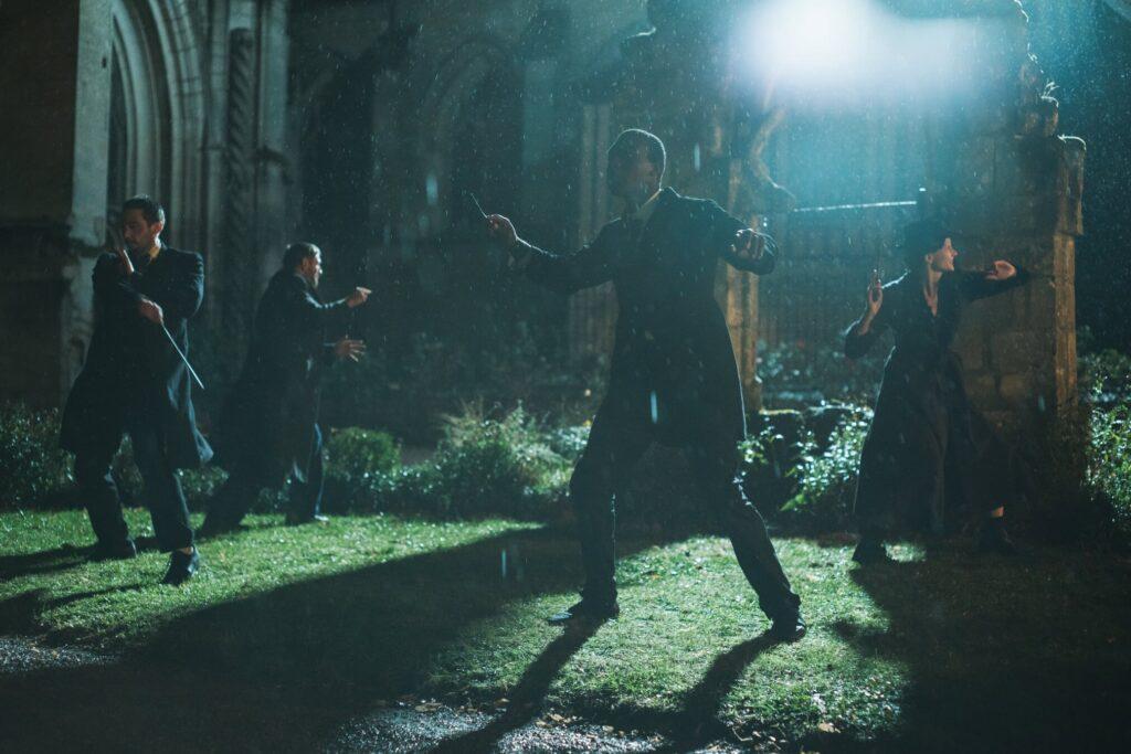 Photo sur le tournage du fanfilm Harry Potter - The House of Gaunt