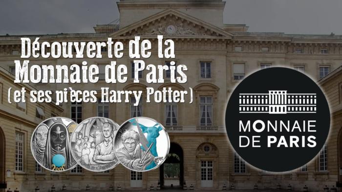 Exclusif : la création des pièces Harry Potter – visite de la Monnaie de Paris
