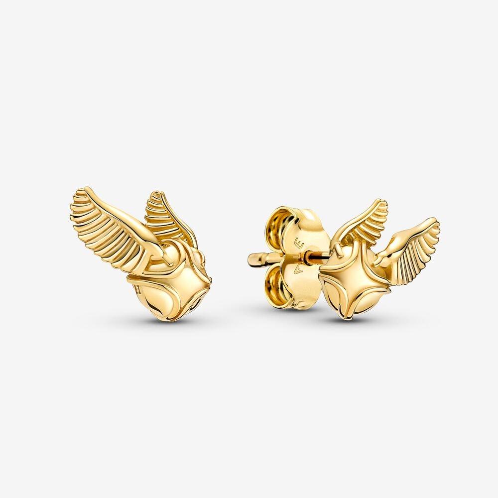 Boucles d'oreille Harry Potter Vif d'Or par Pandora