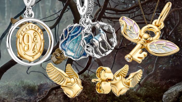 Clés volantes et vif d'or – Pandora élargit son offre de bijoux Harry Potter